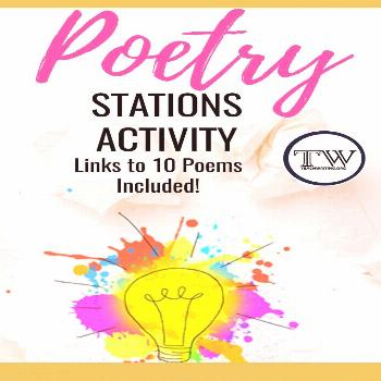 A Creative Poetry Stations Activity —  teaching poetry in middle school or high school english cl