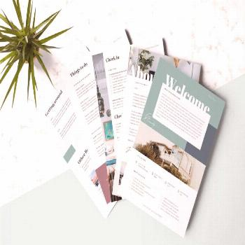 Airbnb Welcome Book Template with regard to Welcome Brochure Template