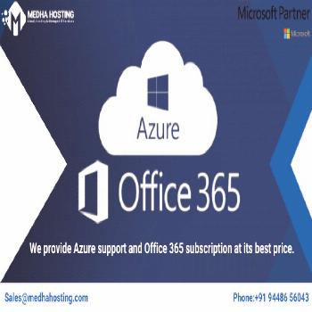 Azure support and Office 365 subscription at its best price. Establish your enterprise cloud platfo