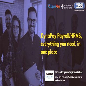 DynaPay Payroll/HRMS, everything you need, in one place