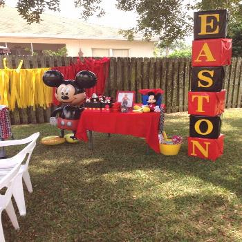 Easton's Mickey Mouse Clubhouse Party! |