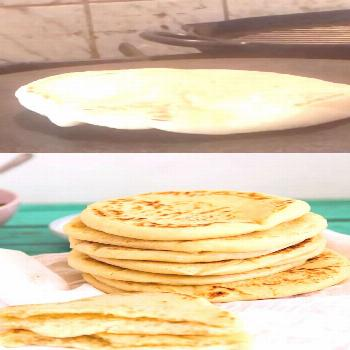 Homemade Easy Pita Bread Recipe When you think Middle Eastern or Mediterranean food the humble pita