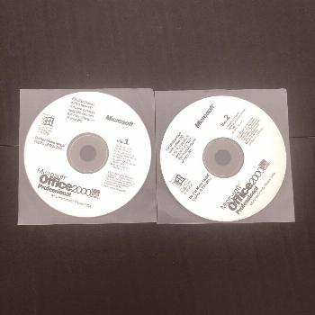 Microsoft Office 2000 Professional Complete 2-Disc Set with Product Key  - Microsoft - Ideas of Mic