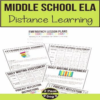 Middle School Distance Learning Use these middle school distance learning lesson plans to help your