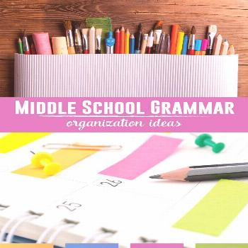 Middle School Grammar Organize your middle school grammar lessons with these ideas. Download activi