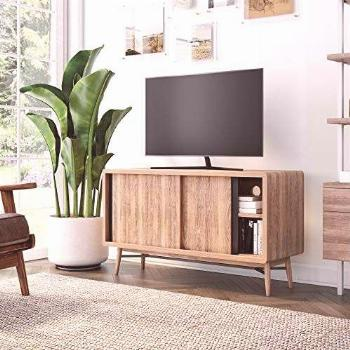 Nathan James Liam Modern Mid-Century TV Stand, Media Console