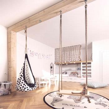 Open and neutral playroom. - || Kids bedroom
