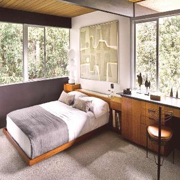 Richard Neutra's Hailey Residence, Has Hardly Changed a Bit - Mid Century Home
