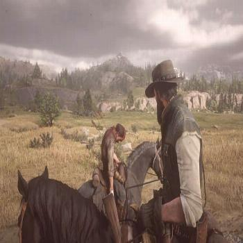 Rough day? . ? - Red Dead Redemption 2 .