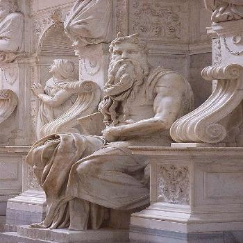 San Pietro in Vincoli: Moses by Michelangelo,San Pietro in Vincoli: Moses by Michelangelo (19... Sa