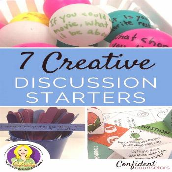 school counselors have to get creative to engage students when they begin group counseling activiti