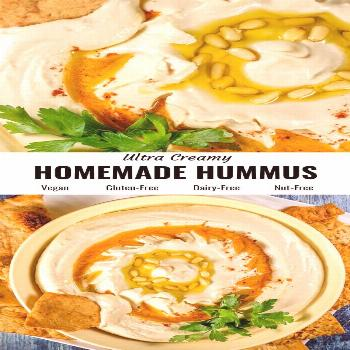 The best ever homemade hummus recipe that is so easy and healthy. Welcome to ultra creamy, fresh an