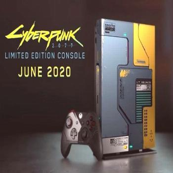 This Cyberpunk 2077 Xbox One X console looks so nice. I could be tempted