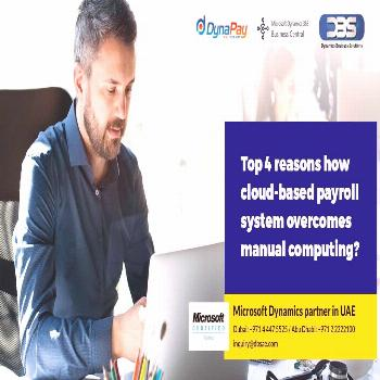 Top 4 reasons how cloud based payroll system overcomes manual computing?