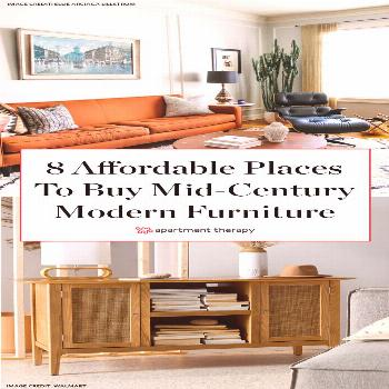 Where To Find Cheap Mid-Century Modern Furniture and Decor   Apartment Therapy