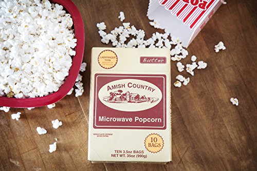 Amish Country Popcorn | Old Fashioned Microwave Popcorn |