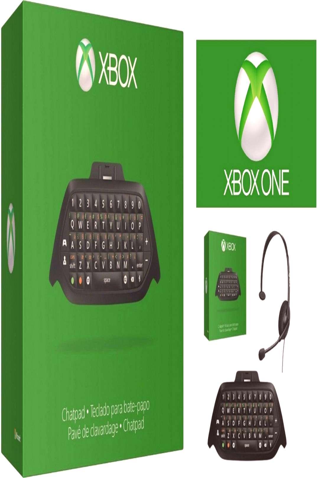 Genuine Official Microsoft Xbox One Chatpad Chat Headset New amp Sealed - Microsoft - Ideas of Micr