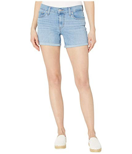 Levis Womens Mid Length Shorts Shorts, -Oahu Clouds, 32