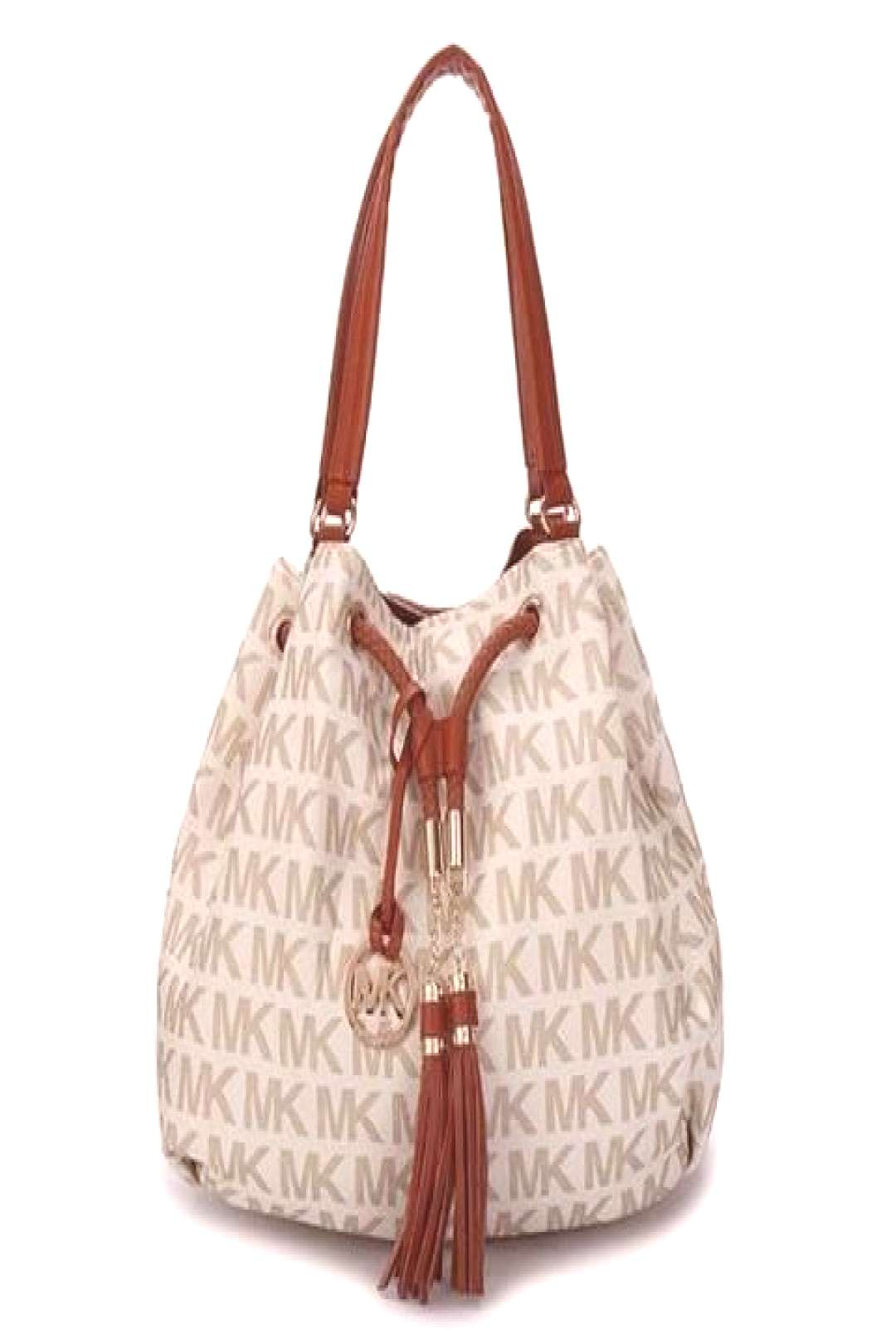 Michael Kors Logo Signature Large Vanilla Totes Outlet – Michael Kors STORE and CO.