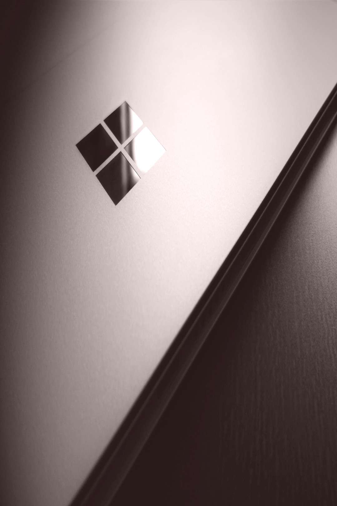 Microsoft Windows logo Microsoft Windows Windows 10 wooden surface