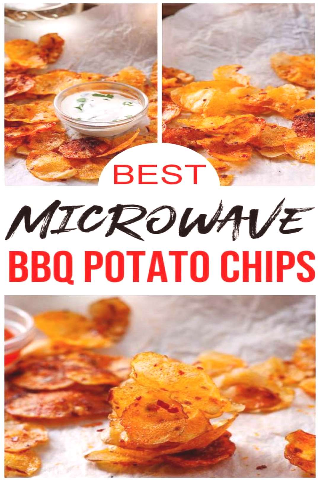 Microwave BBQ Potato Chips! Easy amp simple microwave recipe everyone loves. Learn how to make Microw