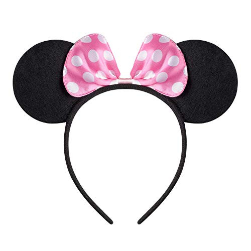 NEWTGAN 20 PCS Mouse Ears for Birthday Party Theme Park